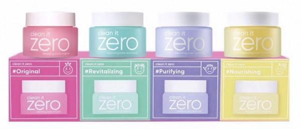 Clean it Zero Cleansing Balm Original Miniature Set (4 types)