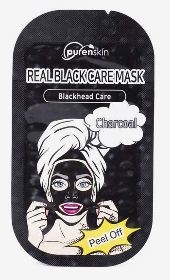 PURENSKIN REAL BLACK CARE PEEL OFF MASK